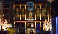 Time for Christmas Shopping (madbesl) Tags: christmas shopping germany weihnachten munich mnchen bayern deutschland bavaria nikon europa europe advent nikkor50mmf18 passage christmasshopping einkaufspassage weihnachtsbeleuchtung kaufingertor christmaslightning platinumheartaward kaufingertorpassage d5100