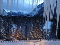 Here's wishing you all a Happy 2015 and HFF! (peggyhr) Tags: trees snow canada mountains fences alberta moonlight banff icicles hff 50faves peggyhr heartawards peaceawards ►thebestshots◄level1 redlevelno1 frameit~level01~ dsc02478ab