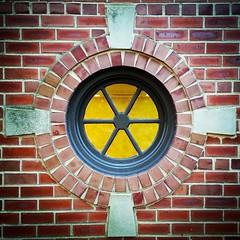Porthole Window (Joe Shlabotnik) Tags: cameraphone window porthole round foresthills 2014 faved foresthillsgardens instagram galaxys5 november2014