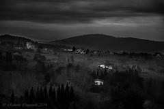 Fiesole Hill, now...!(Tuscany) (ROBRAS 2000 ) Tags: italy panorama landscape italia tuscany firenze roberto toscana paesaggi bianconero fiesole colline dintorni robras2000 robertocinganelli