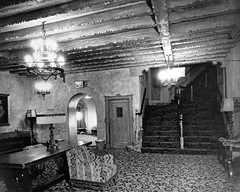 palace theatre downstairs lounge 1920s (albany group archive) Tags: 1920s ny theatre lounge palace albany downstairs