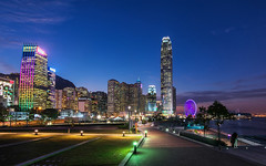 City of Lights (Ateens Chen) Tags: city longexposure light night landscape hongkong nikon ateens d810 flickrhongkong flickrhkma afsnikkor20mmf18ged