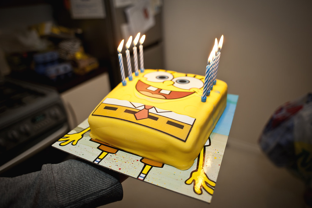 The Worlds most recently posted photos of birthday and spongebob