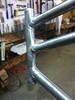 Head tube finishing (Bantam Bicycle Works) Tags: usa bike bicycle handmade steel made frame works custom bantam lugs lugged