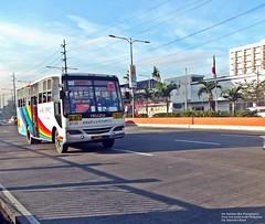 Ordinarily a Rainbow Bus (Win Sabilala (All-in Bus Spotter)) Tags: road city rainbow philippines coastal grotto express ordinary isuzu paranaque baclaran 8728