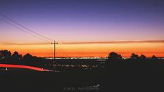 Summer Sunset (R.Ness Photography) Tags: longexposure sunset sun canon australia perth facebook 70d rnessphotography