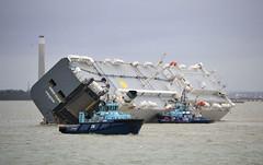 Hoegh Osaka (R~P~M) Tags: uk greatbritain sea england marine ship unitedkingdom maritime solent wreck bramble hoegh