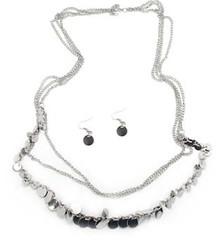 5th Avenue Silver Necklace P2220A-3