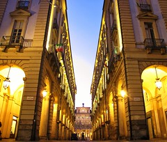 Via Palazzo di Citt (djahier) Tags: italy torino italia piemonte turin piedmont viapalazzodicitt
