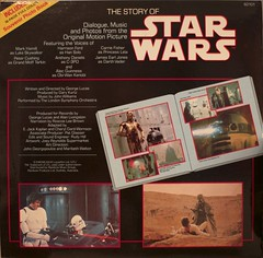 Star Wars (@ablekay47) Tags: music kids children book 33 vinyl 45 story cover record storybook sleeve rpm