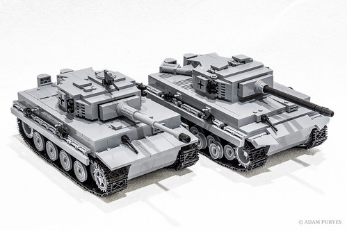 world brick war tank lego military tiger wwii german e ww2 heavy comparison axis cobi minifigure allied minifigures a ausf