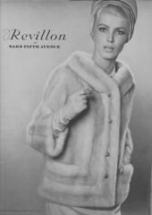 Revillon 1965 (moogirl2) Tags: vintage mod retro vogue 1960s 1965 vintageads revillon 60sfashion vintagevogue