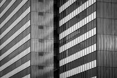 2 of 3... (Blende1.8) Tags: tower lines architecture facade skyscraper deutschland architektur nrw dusseldorf fassade hochhaus linien gernany dreischeibenhaus