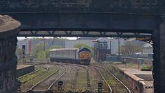 Mind The Gap (Richie B.) Tags: english station electric main rail railway trains class cumbria british 37 northern services direct drs workington 37409 2c49
