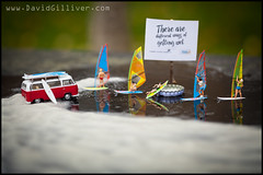 There are different ways of getting wet (Pikebubbles) Tags: uk macro london canon toy toys miniatures miniature tatemodern surfers littlepeople canaryislands itsasmallworld smallworld windsurfers toyart thelittlepeople davidgilliver davidgilliverphotography