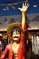 Monkey D. Luffy (Raikhen) Tags: anime statue japan one tokyo expo manga tokyotower piece estatua luffy japn monkeydluffy