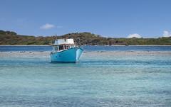 Blue Boat in the BVIs (Alida's Photos) Tags: island sailing tropical caribbean bvi britishvirginislands