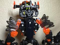 MOD: Lava Beast - 06 (stubs4limbs) Tags: bionicle ccbs stubs4limbs lego moc