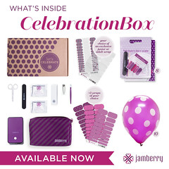 JAMBERRY-Celebration Box (AnewBeautySpecialist) Tags: party event nails spa nailart nailcare jamberry nailgel nailwraps jamberrywraps jamberrylacquer