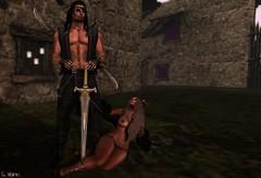 Marco and Ranaa (Vix Stoanes) Tags: life sexy slut master pirate sword second warrior raid weapons lr slave dominant submissive dso slaver gor kajira gorean yasum