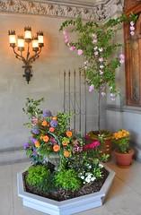 Biltmore Estate (near the front door) (stevelamb007) Tags: flowers light nikon asheville interior details biltmore 18200mmvr stevelamb d7200