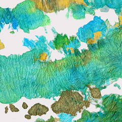 Green Earthy Abstract - Earth Dance - Sharon Cummings (BuyAbstractArtPaintingsSharonCummings) Tags: blue brown abstract green art texture home water yellow metal mystery modern dark gold cool aqua acrylic underwater arty earth contemporaryart contemporary modernart under deep bubbles canvas earthy decorating mysterious abstracts decor ideas liquid interiordesign tone bubbly textured olivegreen watery textural earthtone modernhome moderndecor sharoncummings