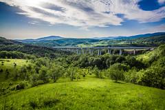 Morning haze (Cortez_CRO) Tags: road mountain nature landscape highway croatia priroda hrvatska cesta planina velebit pejzaz autocesta josipdol