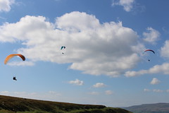 A IMG_5059 (angharad.barrett) Tags: sky beautiful canon happy flying colourful paragliding gliding parachute abergavenny d700