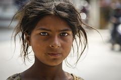 Girl in Kathmandu (gthulin) Tags: nepal asia mount kathmandu everest bazar lukla namce