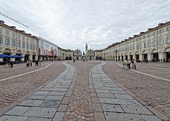 Turin 06 (mpetr1960) Tags: city people italy stone architecture square nikon europe cityscape outdoor eu turin d800 nikond800