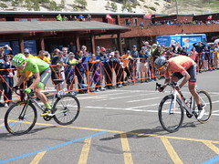 Toms Skujins and Adam De Vos Headed for the finish line - Stage 5 (leev13tourofcal2012) Tags: california lake tour 5 stage tahoe mens tp amgen lodi 2016