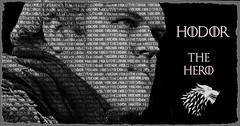 Hodor (Jackie XLY) Tags: hero got stark gameofthrones hodor housestark