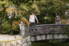 Kiyomizu Temple Gardens 3 (camike) Tags: trees portrait japan gardens kyoto bridges d750  so 24120mmf4gvr
