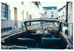 Head out on the road (Wil Wardle) Tags: england 35mm canon riley photography brighton britain f14 streetphotography sigma british coupe carportrait primelens adobelightroom britishphotographer 5dmk3 wilwardle ebphoto exploringtheautomobile artserieslens sigmaart35mm rileydropheadcoupe