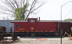 IANR 11 (eslade4) Tags: caboose waterloo ianr bryantyard iowanorthernrailway ianr11