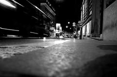 Rom by night (Claudio Taras) Tags: street light shadow people bw roma night monocromo nikon bokeh pov luci monochrom claudio rom biancoenero controluce taras streetshot contrasto