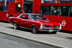 England 2016  London  1966 Pontiac GTO (Michiel2005) Tags: auto uk greatbritain england london car unitedkingdom britain 1966 pontiac gto engeland londen vk grootbrittanni verenigdkoninkrijk