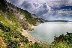 Mupe Bay (OutdoorMonkey) Tags: ocean sea cliff cloud seascape beach landscape outside coast seaside outdoor coastal dorset seashore jurassiccoast worbarrowbay mupebay