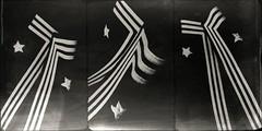Memorial Day-5101 (Poetic Medium) Tags: blackandwhite stilllife male fashion uniform dad triptych ipod personal navy fabric ww2 possession mextures kitcamghostbird