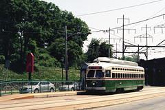 Septa Route 15 Heritage Trolley (angusmcnitt) Tags: heritage film philadelphia trolley bronica septa etrsi kodakportra160 pe75mmf28