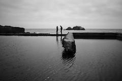 Moody Sutro (tourtrophy) Tags: sutrobaths landends sanfrancisco pool silhouettes nikoncoolpixa coolpix nikon blackandwhite monotones
