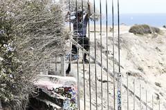 Sunken City trespasser (hammerwold) Tags: sunken city san pedro california trespass trespasser