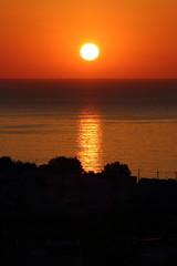 IMG_5643 (Ian.2020) Tags: sunset santorini caldera sky kamari sun aegean sea silhouette greece reflection sunrise