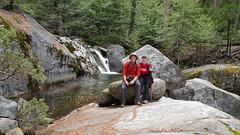 Hiking in Yosemite NP