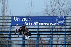 un vicio... sin remedio (Ricardo Obando) Tags: estadio sanfernando ftbol hinchas lienzo colchagua hinchada estadiojorgesilvavalenzuela