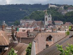 Saint Pierre, Saint Jean et la Citadelle  Besanon (France, Franche Comt) (Woper25) Tags: france frankreich francia franchecomt toits besanon doubs
