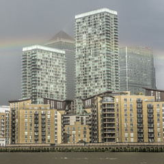 Canary Wharf (Steven Olmstead) Tags: architecture buildings skyscrapers d610