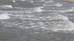 High tide at Earnse Bay (billnbenj) Tags: surf waves spray cumbria barrow hightide walneyisland earnsebay