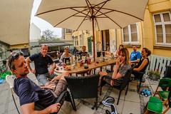 Grill i grden V (Keith Canisius Baerken) Tags: sommer voigtlander grill fisheye ferie dansk hygge samyang fuji352