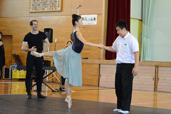 The Royal Ballet run workshops to inspire children in Japanese earthquake zones